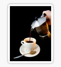 Fresh coffee for one Sticker