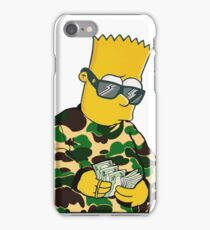 killa bart simsons iPhone Case/Skin