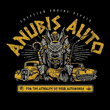 Anubis Auto by HeartattackJack