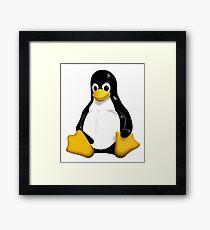 Linux Tux  Framed Print