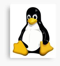 Linux Tux  Canvas Print