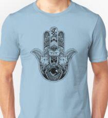 Hamsa Hand Persian Cat Unisex T-Shirt