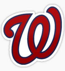 washington nationals baseball Sticker