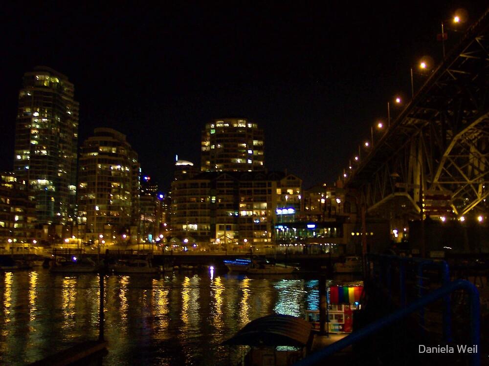 Ferry Station at Night by Daniela Weil