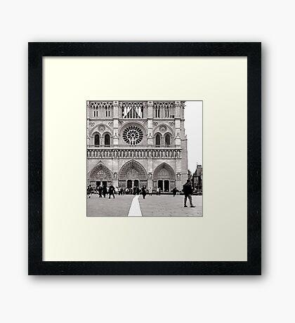 paris in the spring Framed Print
