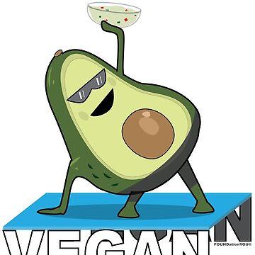 Namaste Vegan  by FOUNDationYOU