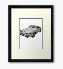 Vintage German Sports Car Framed Print
