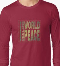 """Our #IDWP Logo in """"faded"""" Golden-Green.  T-Shirt"""
