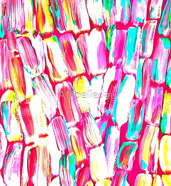 Pink Party Sugarcane by ANoelleJay