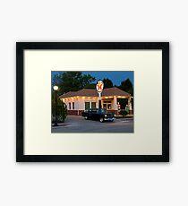 """""""The Filling Station"""" Framed Print"""