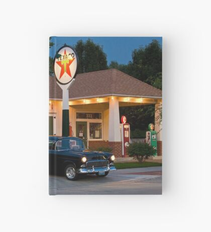 """""""The Filling Station"""" Hardcover Journal"""