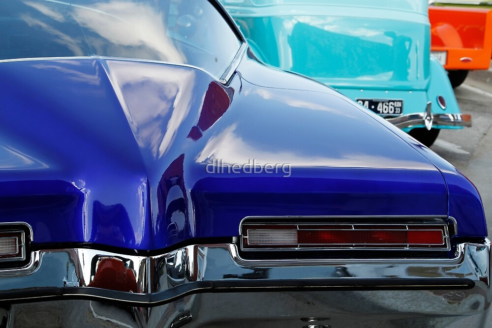 Blue Boattail Buick by dlhedberg