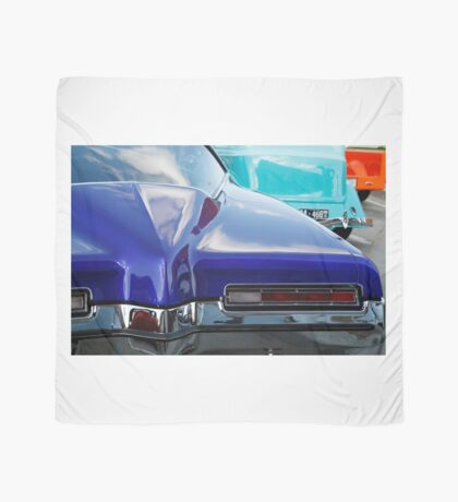 Blue Boattail Buick Scarf