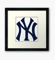 new york yankees best logo Framed Print