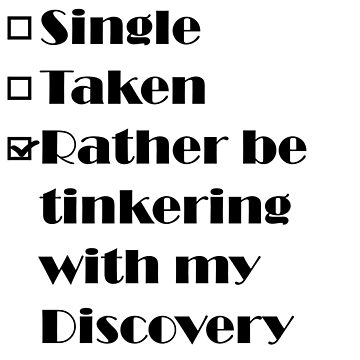 Rather be tinkering with my Discovery by 4x4Life