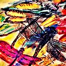Vibrant Dragonfly by Susan  Detroy