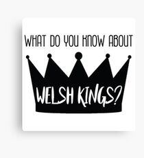 Welsh Kings Canvas Print