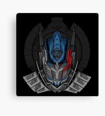 Transformers the Movie The Last Knight Optimus Prime Canvas Print