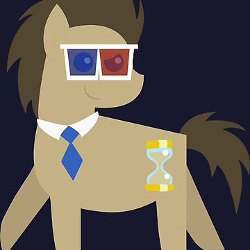 My Little Pony - Dr Hooves BBBFF (Song) Style (With 3D Glasses and Tie) by KatyM