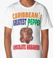 CHOCOLATE HABANERO - CARIBBEAN GREATEST PEPPER Long T-Shirt