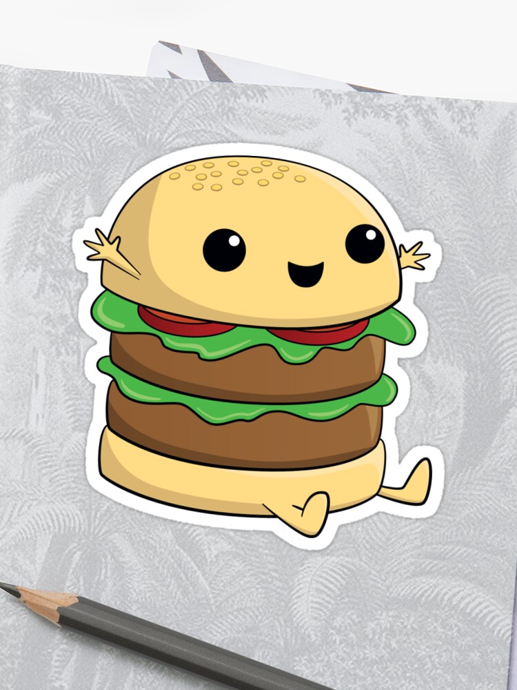 Dessin Hamburger Kawaii Gamboahinestrosa