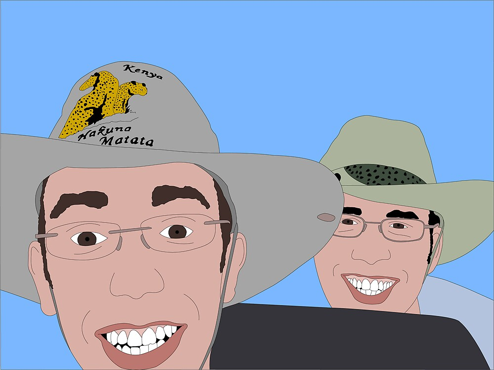 The Safari Brothers by Franco