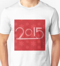 red new year background Unisex T-Shirt