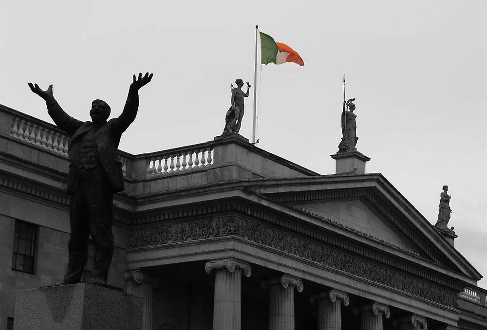 Jim Larkin at the GPO ... by SNAPPYDAVE