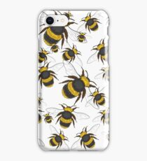 A swarm of bees iPhone Case/Skin