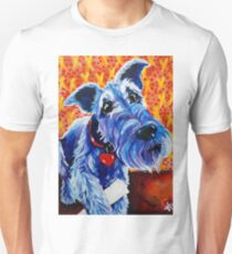 Blue Boy Terrier Airedale Sealyham Wheaten Lakeland Kerry Cesky Irish Schnauzer Welsh   Unisex T-Shirt