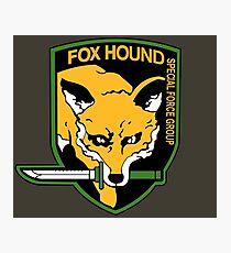 Metal Gear Solid - Fox Hound Emblem Photographic Print