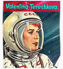 Valentina Tereshkova-Vostok 6 Poster