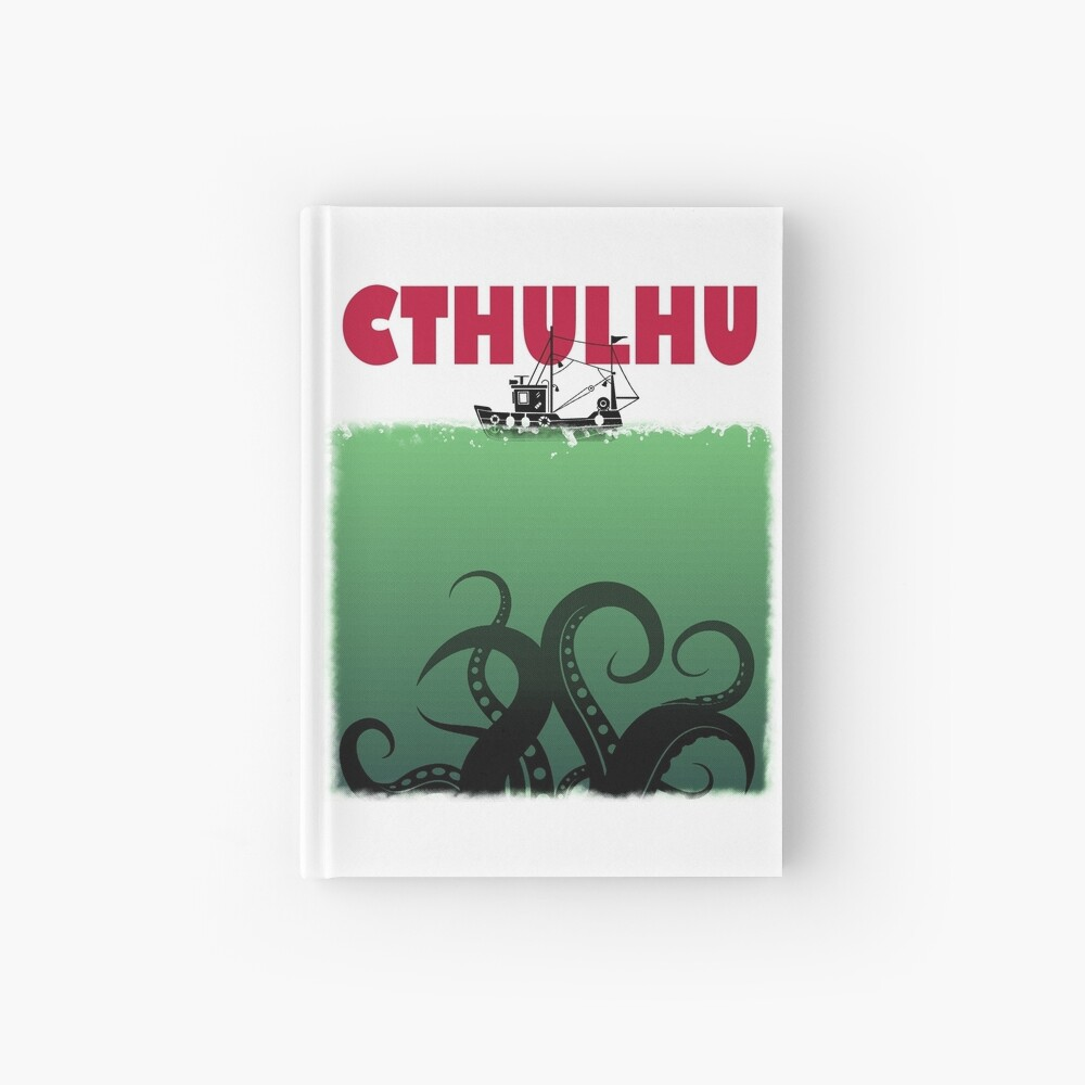Cthulhu Jaws Hardcover Journal