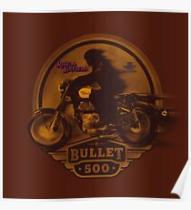 Royal Enfield Bullet 500 design by MotorManiac Poster
