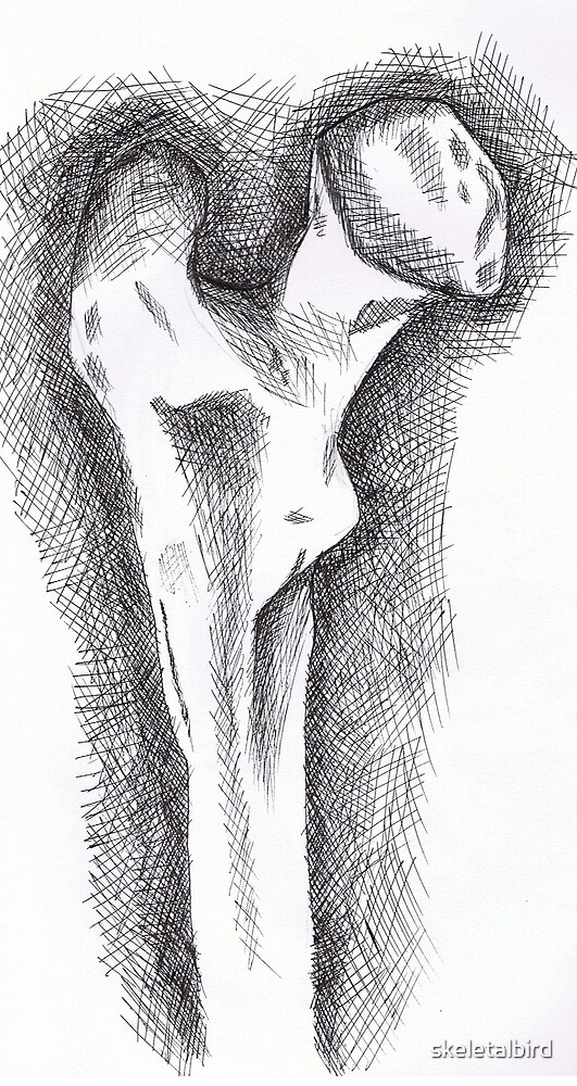 femur by skeletalbird