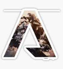 Titanfall A Sticker