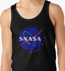 Camiseta de tirantes SNASA (Secreto NASA - Logotipo)