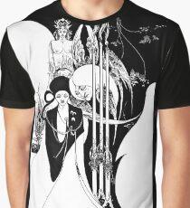 "Aubrey Beardsley's Art Nouveau ""Black Arts Revealed"" Graphic T-Shirt"