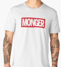 MONGER (Red) Men's Premium T-Shirt