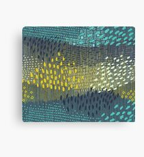 Cosmic Particles by Friztin Canvas Print