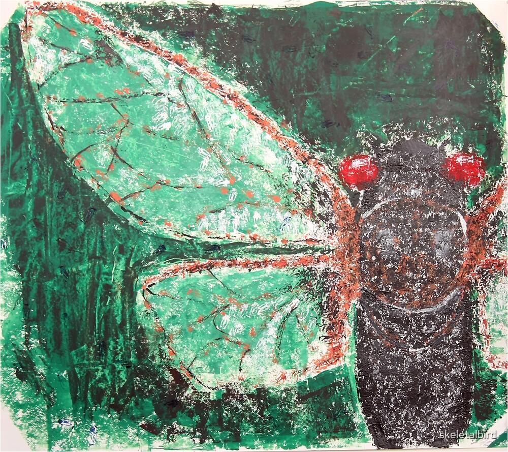 cicada by skeletalbird