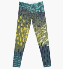 Cosmic Particles by Friztin Leggings