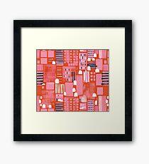 City Life by Friztin Framed Print