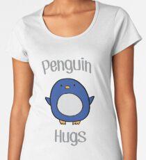 Penguin Hugs Women's Premium T-Shirt