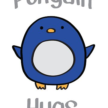 Penguin Hugs by sisaro