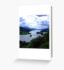 Queen's View II Greeting Card