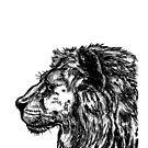 Löwe-Skizze von sandyeates