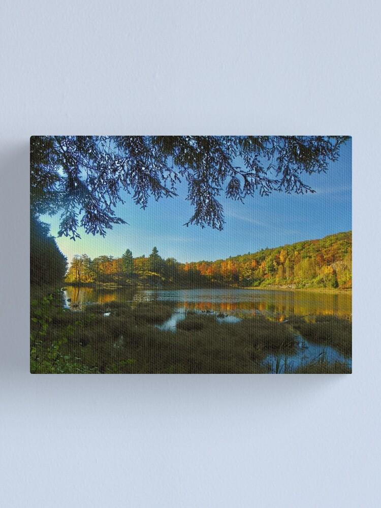 Alternate view of Autumn Serenity Canvas Print