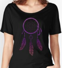 Dream Catcher Purple Women's Relaxed Fit T-Shirt