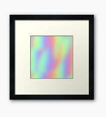 Holla-gram! Framed Print